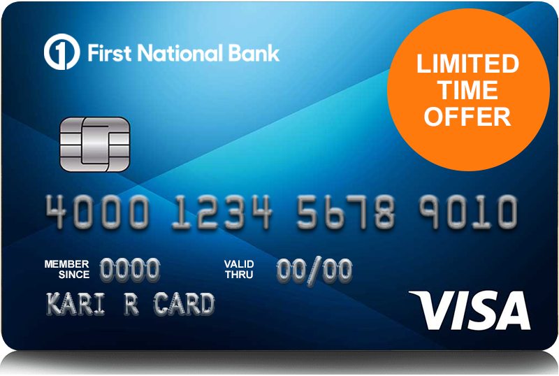 Platinum Edition Visa Card with Prime Rate